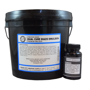 Printers choice dual cure emulsion