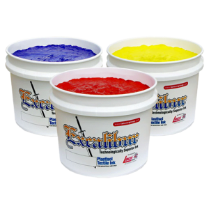 Excalibur 500 Series Plastisol Inks for wet on wet screen printing