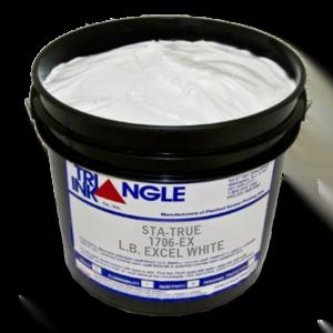 Triangle Plastisol White & Black Inks