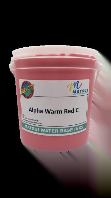 Alpha Warm Red C