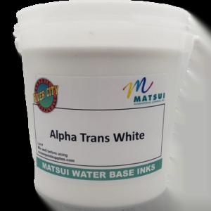 Alpha Trans White