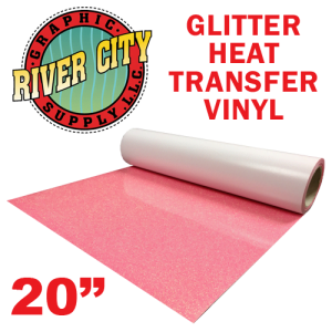 "River City 20"" Heat Transfer Vinyl Glitter Colors"