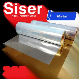 """Siser Easyweed 20"""" Heat Transfer Vinyl Metal Colors"""