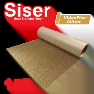 """Siser 15"""" Videoflex Glitter Heat Transfer Vinyl"""