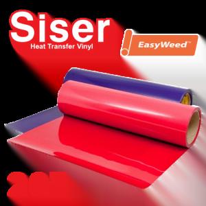"""Siser EasyWeed 20"""" Heat Transfer Vinyl Standard Colors"""