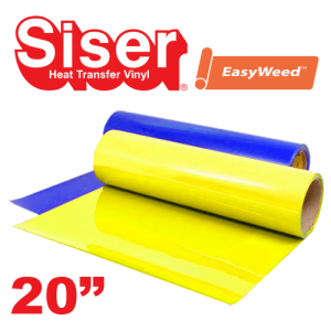 """Siser EasyWeed 20"""" Heat Transfer Vinyl Fluorescent Colors"""