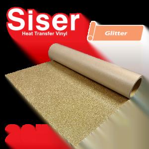 """Siser EasyWeed 20"""" Heat Transfer Vinyl Glitter Colors"""