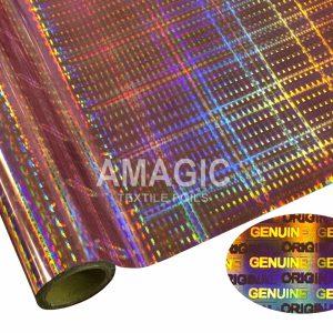 Holographic Textile Foils