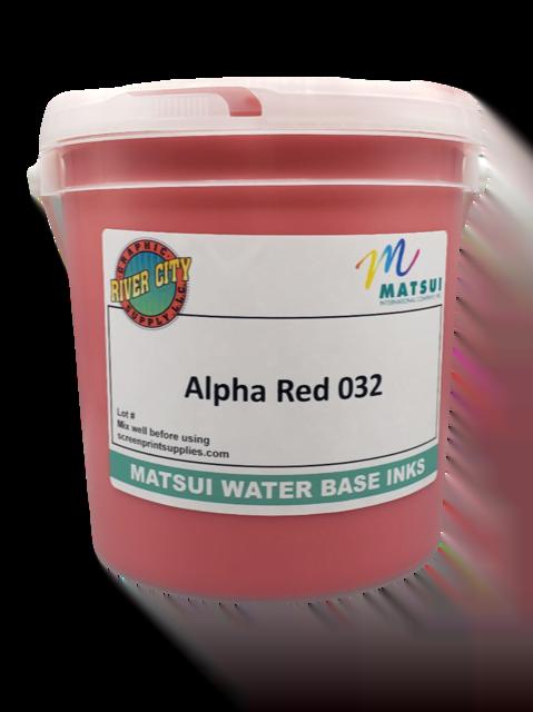 Matsui Alpha Red 032